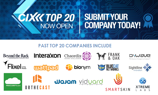 Cix Top 20 Startup Here Toronto