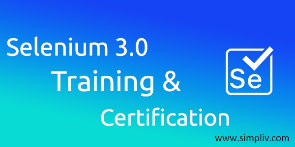 Selenium 3 0 Training & Certification Course - StartUp HERE